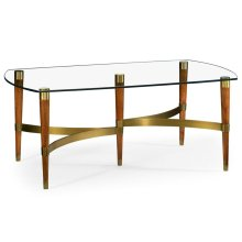 Hyedua & Glass Coffee Table