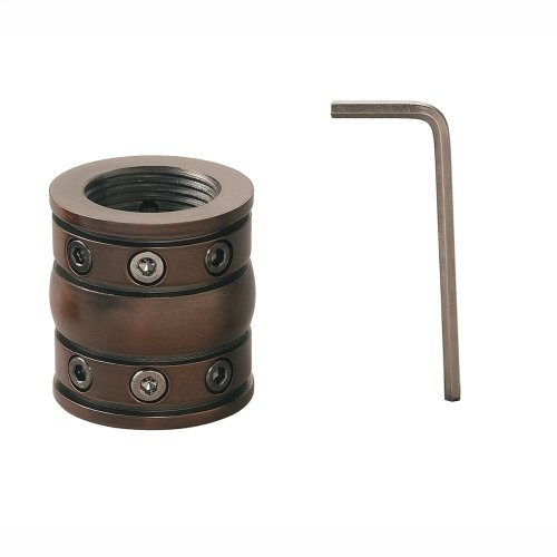 Downrod Coupler Tannery Bronze