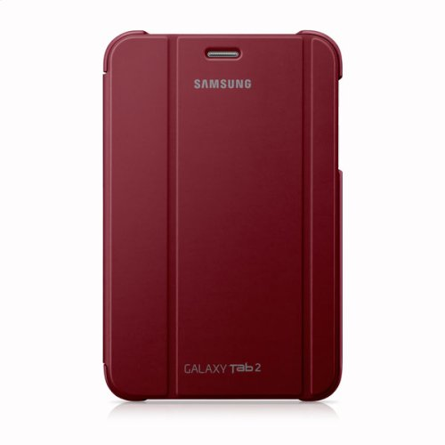 Galaxy Tab 2 7.0 Magnetic Book Cover, Red