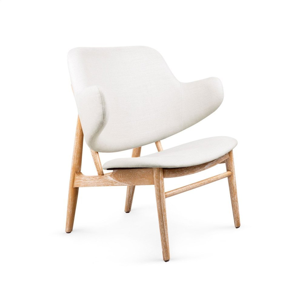 Elba Lounge Chair, Natural