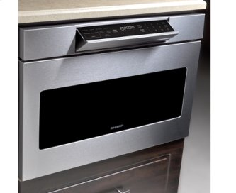 "30"" Microwave Drawer; Hidden Control Panel; Automatic Drawer Opening System"