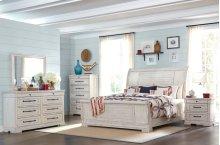 Trisha Yearwood - Coming Home Queen Bedroom Group: Queen Bed, Nightstand, Dresser & Mirror