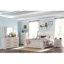 Trisha Yearwood - Coming Home Queen Bedroom Set: Queen Bed, Nightstand, Dresser & Mirror
