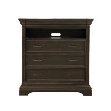 Caldwell 4 Drawer Media Chest