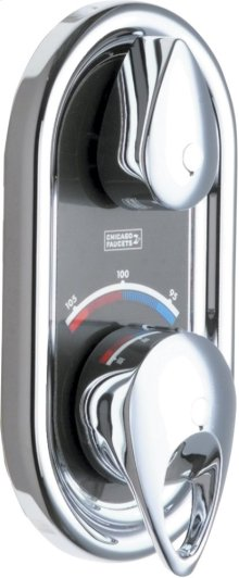 TempShield Thermostatic Pressure Balancing Shower Valve With Trim