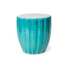 Ceramic Scallop Stool