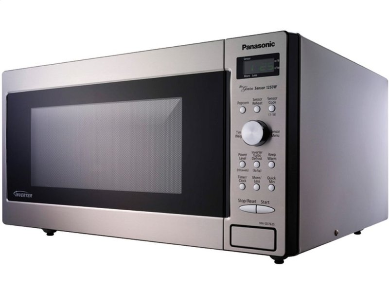 1 6 Cu Ft Built In Countertop Microwave Oven With Inverter Technology