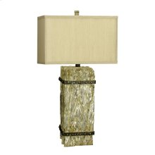 150W 3 Way Ennis Resin Table Lamp