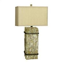 150W 3 Way Ennis Resin Table Lamp