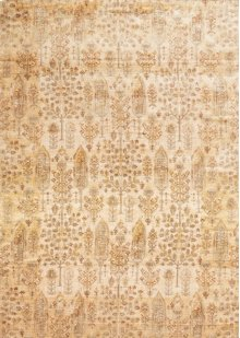Ant. Ivory / Gold Rug