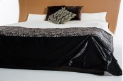 Modrest Novara Black Duvet Cover Product Image
