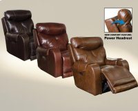 Power Headrest Lay Flat Recliner Product Image