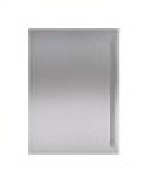 "Built-In 30"" Stainless Steel Flush Inset Door Panel with Tubular Handle"