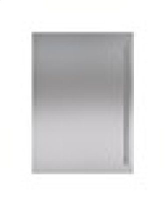 """Classic 30"""" Stainless Steel Dual Flush Inset Door Panel with Tubular Handle"""
