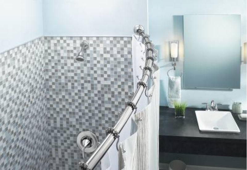 CSR2160CH in Chrome by Moen in Painesville, OH - Curved Shower Rods ...