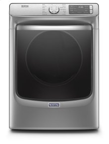 Smart Front Load Electric Dryer with Extra Power and Advanced Moisture Sensing with industry-exclusive extra moisture sensor - 7.3 cu. ft.