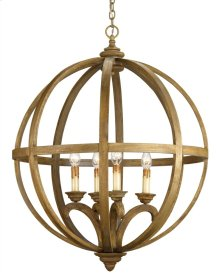 Axel Orb Chandelier, Large - 32rd x 41h