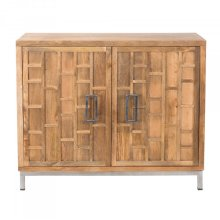 Solid Mango Accent Cabinet