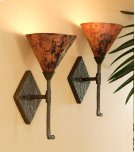 Cedarvale Iron Single Wall Sconce with Copper Shade Product Image