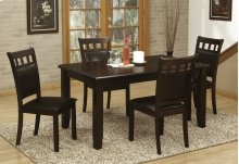 5pc. Cappuccino Dining Set
