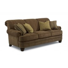 Bay Bridge Fabric Sofa with Nailhead Trim