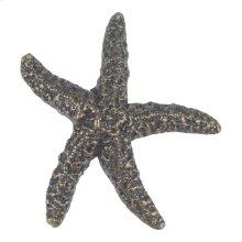 Starfish Knob 2 Inch - Burnished Bronze