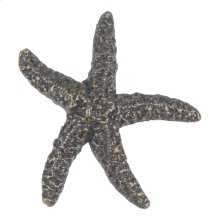 Starfish Knob 2 Inch - Burnished Bronze