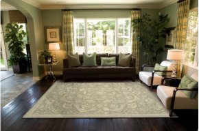 Regal Reg02 Gre Rectangle Rug 9'9'' X 13'9''