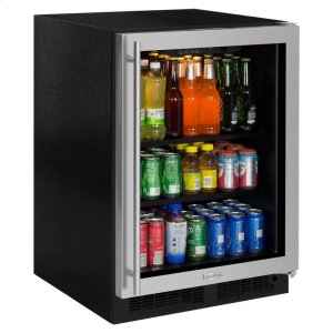 Marvel24-In Built-In Beverage Center with Door Swing - Right
