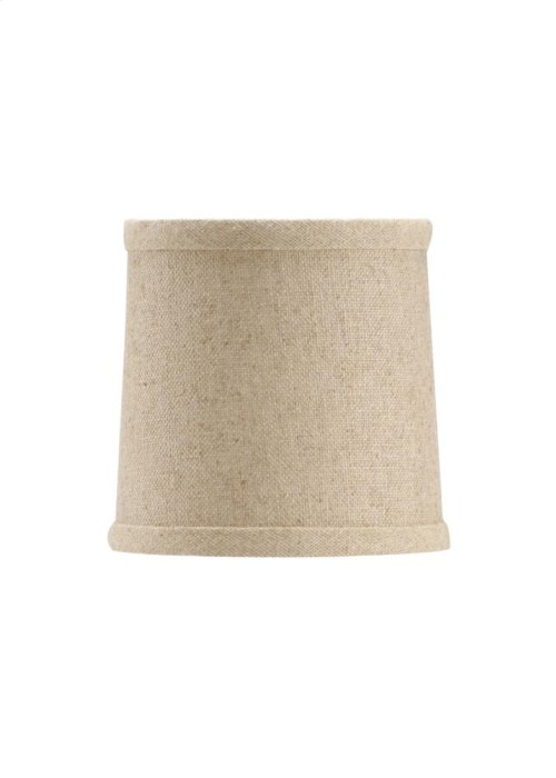 Natural Linen Chand. Shade