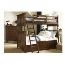 Big Sur by Wendy Bellissimo Bixby Bunk Bed Twin over Twin