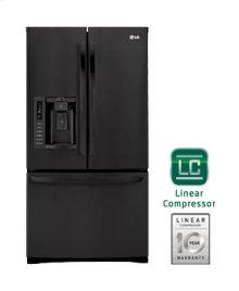 Ultra-Large Capacity 3 Door French Door Refrigerator with Ice & Water Dispenser