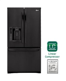 Ultra-Large Capacity 3 Door French Door Refrigerator with Ice & Water Dispenser