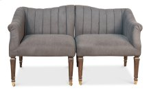 Jewel Loveseat Misty Black