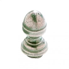 "Acorn Finial Cap 5/8"" Barrel Silicon Bronze Brushed"