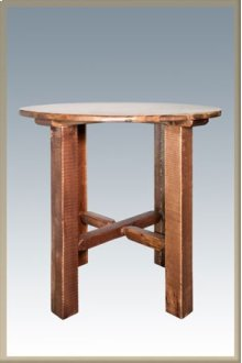 Homestead Bistro Table - Stained and Lacquered