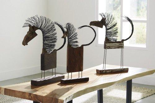 Wire Horse Sculpture, Small Body