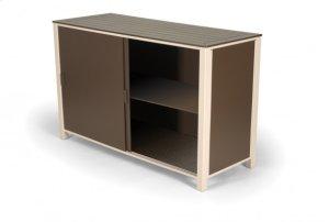 Patio Storage Box Shelf