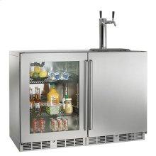 "48"" Signature Series Outdoor Refrigerator/Beer Dispenser"