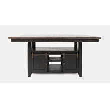 Madison County High/low Ext Table Top - Vintage Black