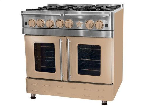 "36"" Precious Metals Range with 12"" Charbroiler"