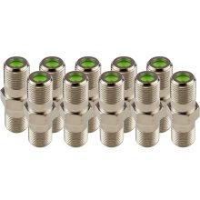 (10-Pack) Dual Female Splice Adapter