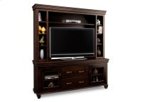 """Provence 74"""" HDTV Cabinet with Hutch (44"""" TV Opening) Product Image"""