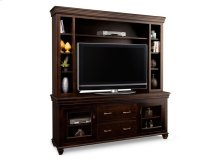 """Provence 74"""" HDTV Cabinet with Hutch (44"""" TV Opening)"""