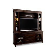 "Provence 74"" HDTV Cabinet with Hutch (44"" TV Opening)"