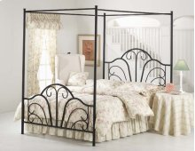 Dover King Canopy Bed Set