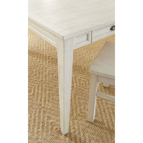 "Cayla Side Chair, White 20""x24""x40"""