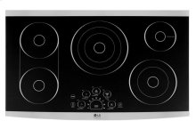 "LG STUDIO 36"" Electric Cooktop"