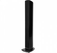 Ultra-performance floor-standing loudspeaker with built-in powered subwoofers