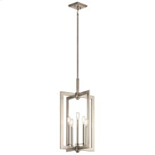 Cullen Collection Cullen 5 Light Large Foyer Pendant in CLP